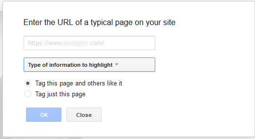 Add page for highlighting