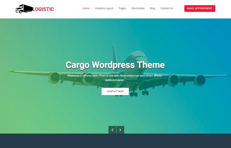 Logistics theme by SKTThemes