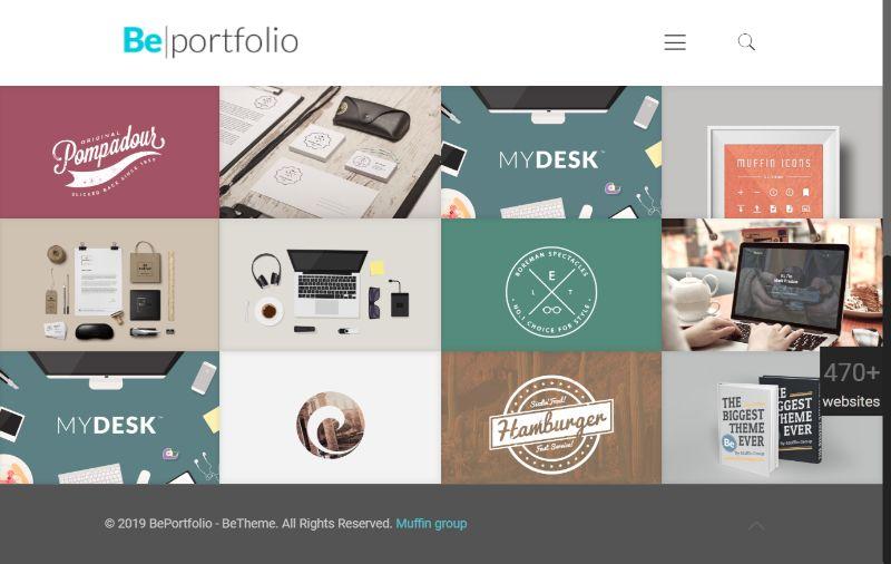 BeTheme Four Columns WordPress Theme