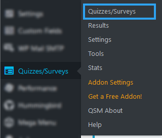 Add new quizzes
