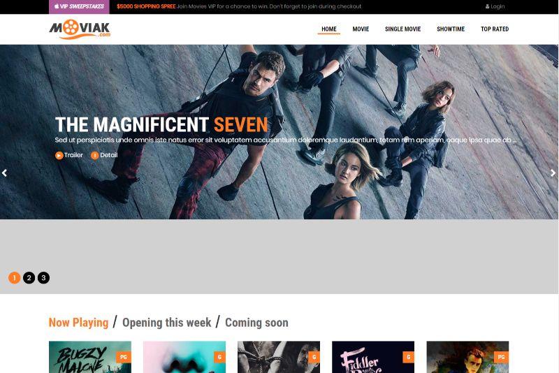 AmyMovie WordPress Movie Film Theme