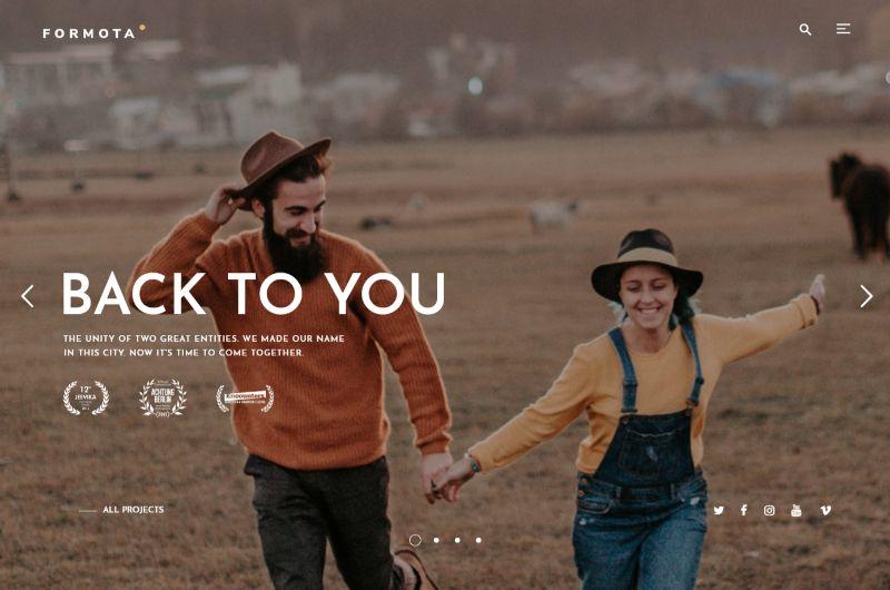 Formota WordPress Movie Film Theme
