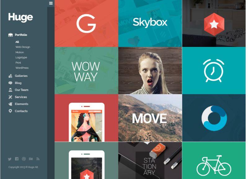Huge Grid WordPress Theme