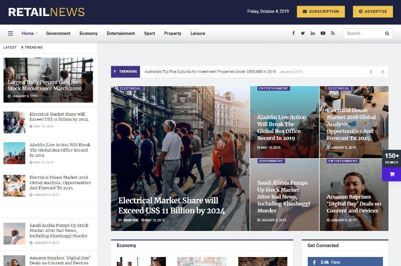 JNews Three Column WordPress Theme