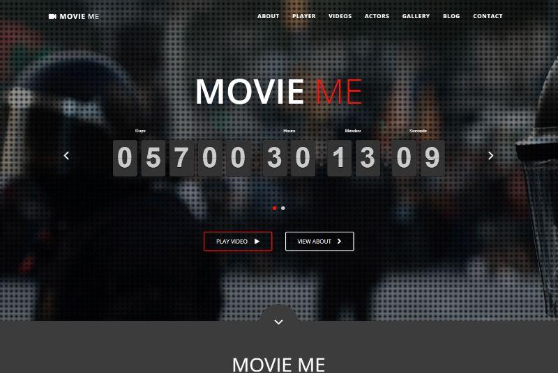 MovieMe WordPress Movie Film Theme