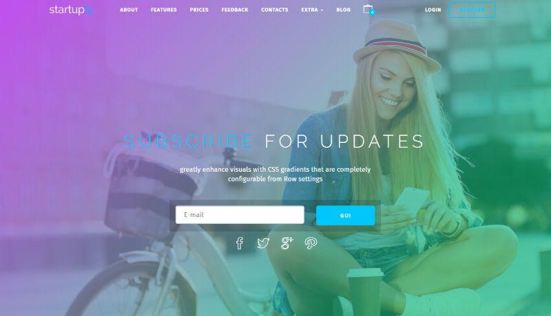 Startuply Coming Soon WordPress Theme