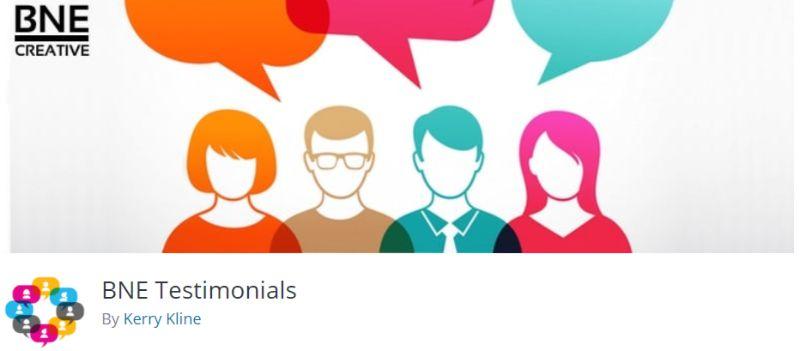 BNE Testimonial WordPress plugin