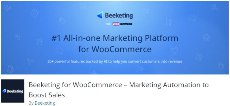 Beeketing WooCommerce plugin