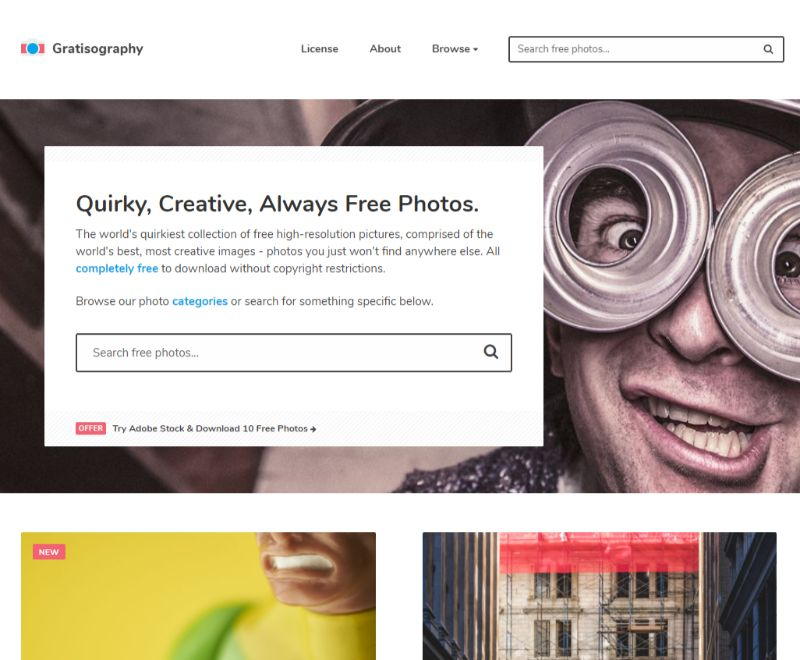 Gratisography free stock images