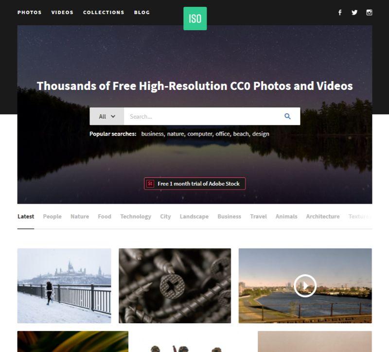 ISORepublic free stock images