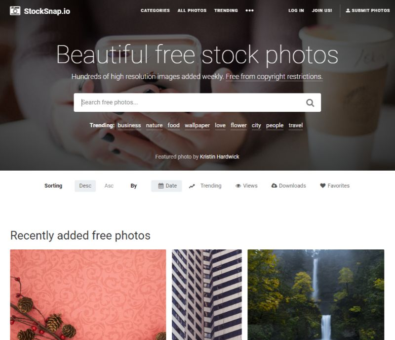 StockSnap free stock images