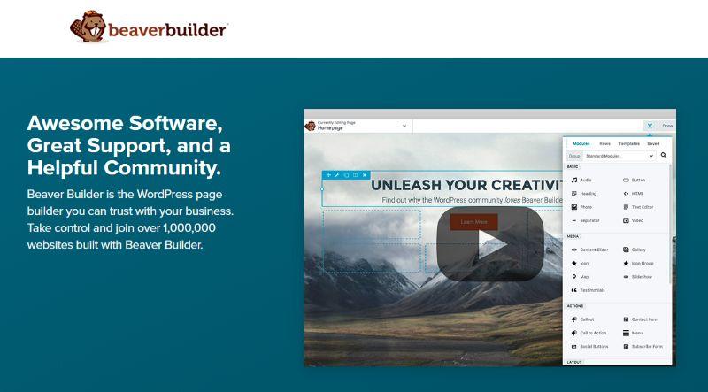 Beaver WordPress Page Builder