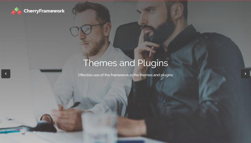 Cherry WordPress Theme Options Framework