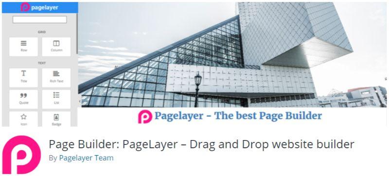 PageLayer WordPress Page Builder