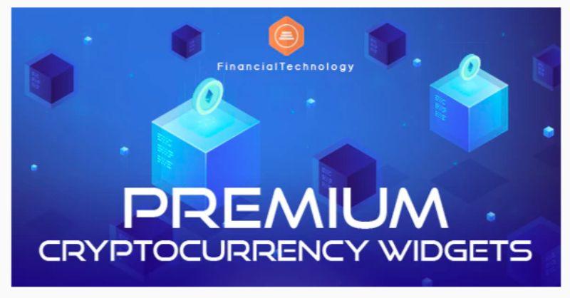 Premium Cryptocurrency Widgets WordPress plugin
