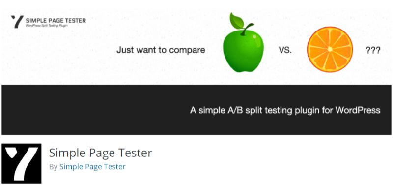 Simple Page Tester Free AB Test tool