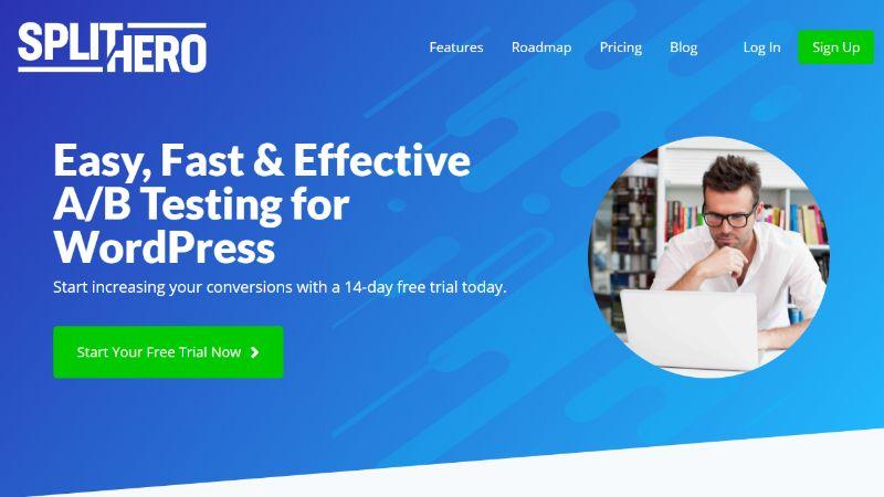 SplitHero Free AB Test tool