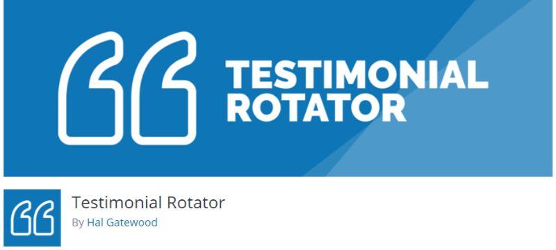 Testimonial Rotator WordPress plugin
