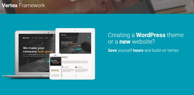 Vertex WordPress Theme Options Framework