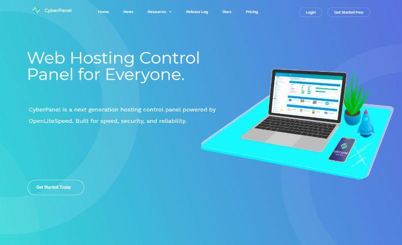 CyberPanel Web Hosting Control Panel
