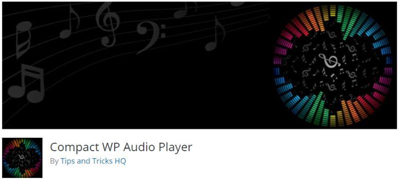 Compact WP Audio Player plugin