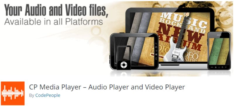 CP Media Player WordPress plugin