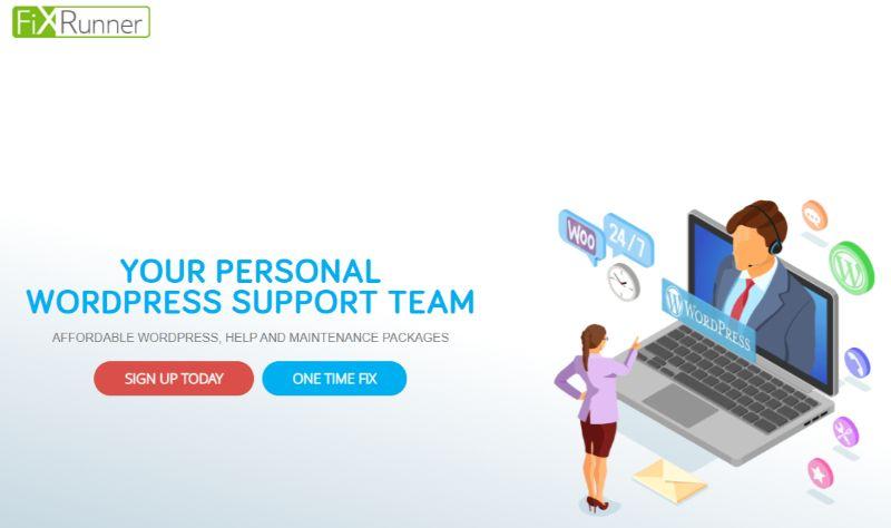 FixRunner WordPress Support Maintenance Services