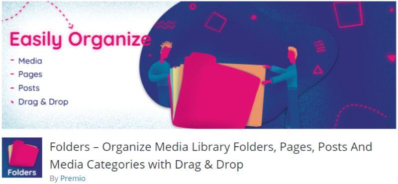 Folders WordPress Media Management plugin