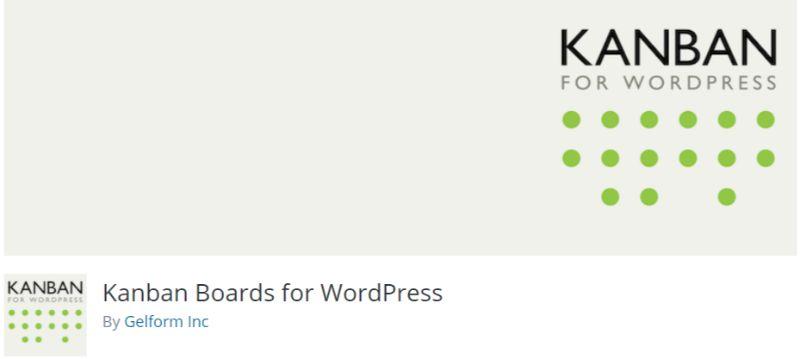 Kanban Boards Project Manager WordPress