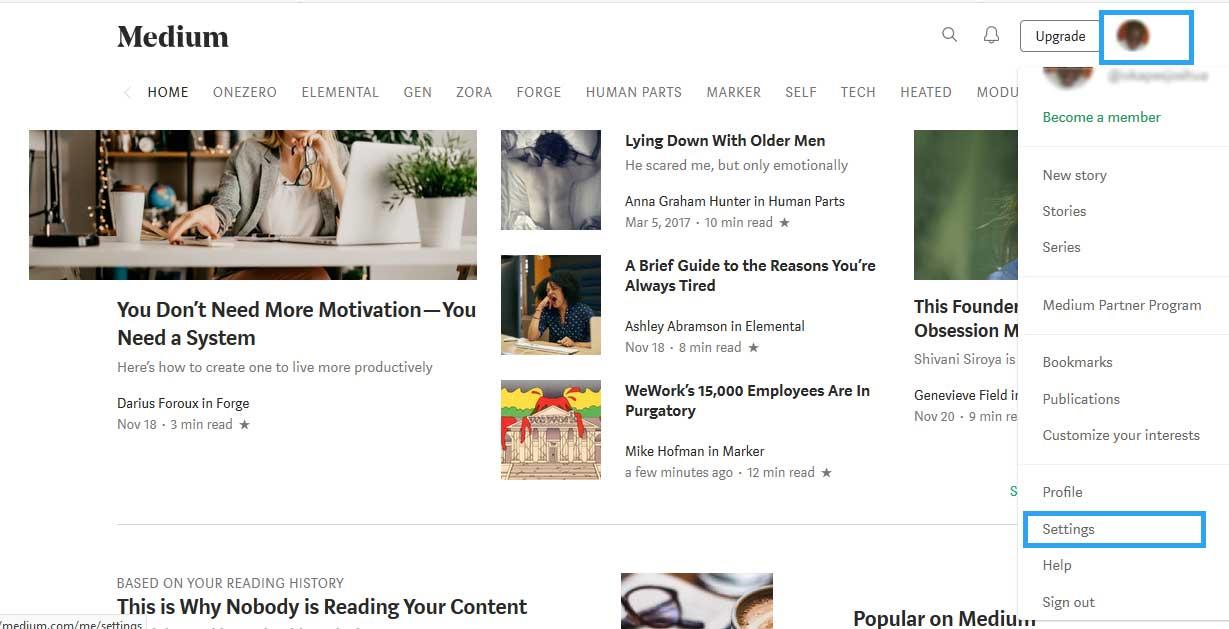 Medium Free Blogging