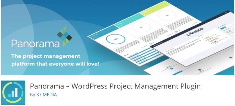 Panorama WordPress Project Manager plugin