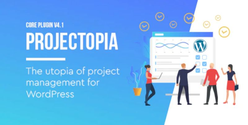 Projectopia WordPress Project Manager plugin