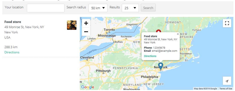 Publish Store Locator in WordPress