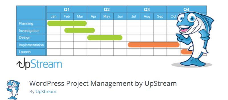 UpStream WordPress Project Management plugin