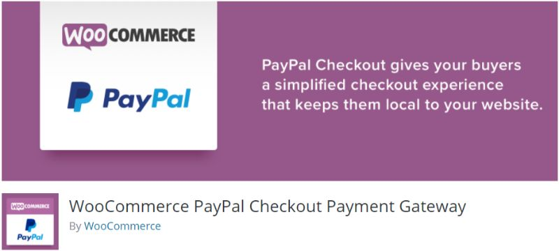 WooCommerce PayPal Checkout Payment Gateway
