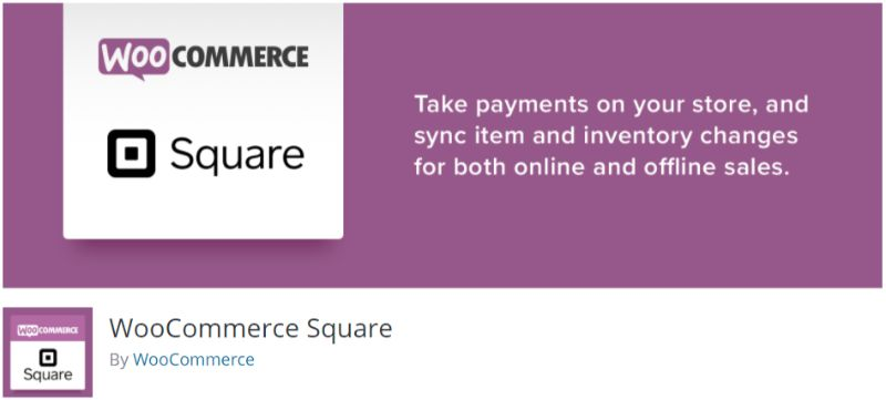 WooCommerce Square Payment Gateway plugin