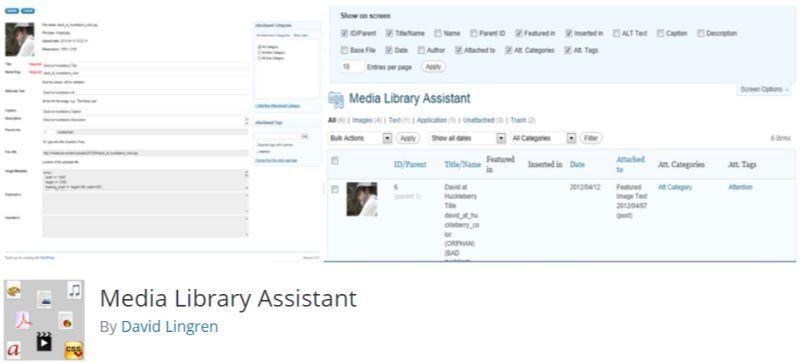 WordPress Media Library Assistant Plugin
