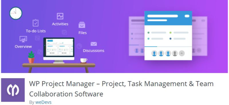 WP Project Manager plugin