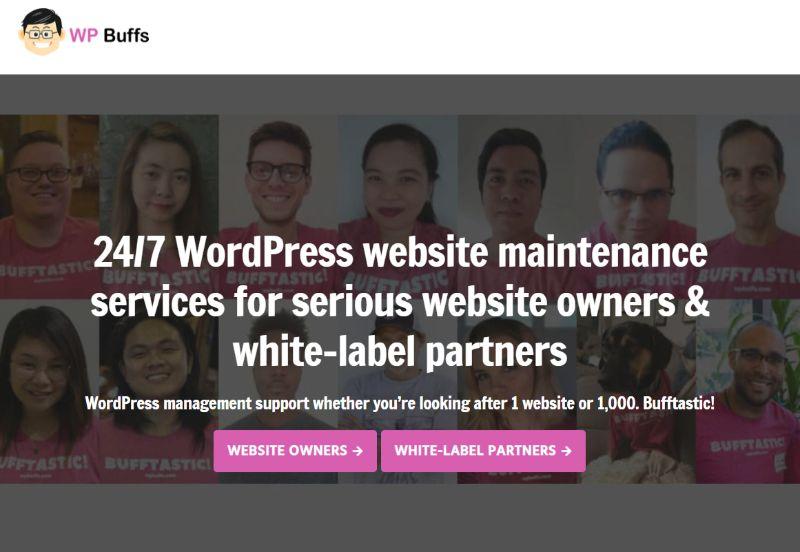 WPBuffs WordPress Support Maintenance Services