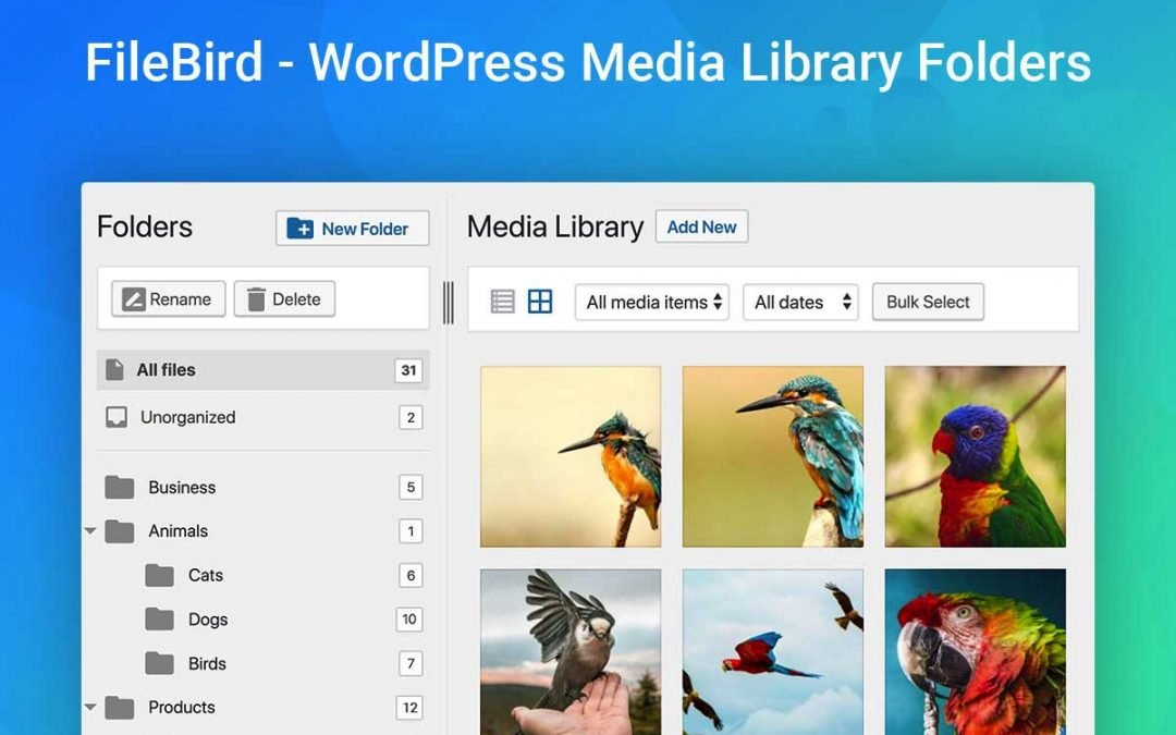 How to Organize Files in the WordPress Media Library with Folders
